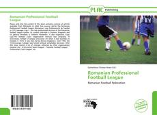 Portada del libro de Romanian Professional Football League