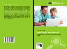Bookcover of Apple Public Source License