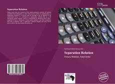 Copertina di Separation Relation