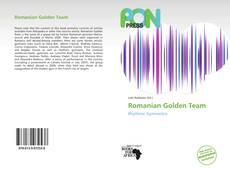 Bookcover of Romanian Golden Team