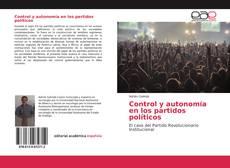 Buchcover von Control y autonomía en los partidos políticos