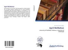 Capa do livro de April McMahon