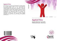 Buchcover von Applied Films