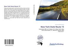 New York State Route 15 kitap kapağı