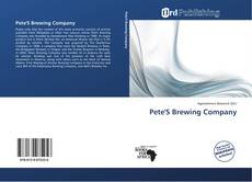 Bookcover of Pete'S Brewing Company