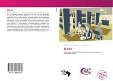 Buchcover von bidok
