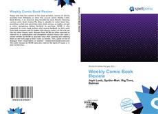 Copertina di Weekly Comic Book Review