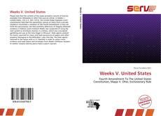 Weeks V. United States的封面