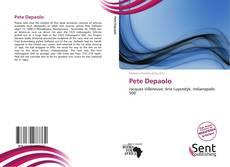 Обложка Pete Depaolo