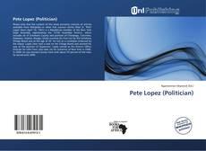 Capa do livro de Pete Lopez (Politician)