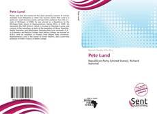 Pete Lund kitap kapağı
