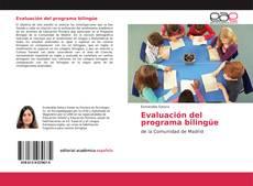 Bookcover of Evaluación del programa bilingüe