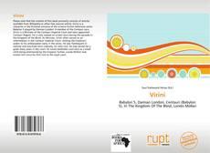 Couverture de Virini