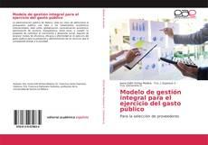 Обложка Modelo de gestión integral para el ejercicio del gasto público