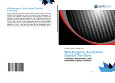 Portada del libro de Weetangera, Australian Capital Territory