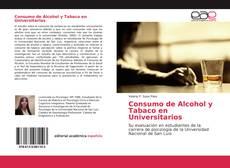Portada del libro de Consumo de Alcohol y Tabaco en Universitarios