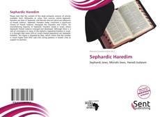 Sephardic Haredim kitap kapağı