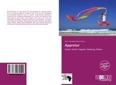 Buchcover von Appretur