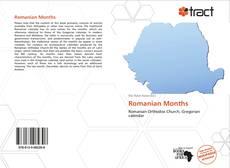 Capa do livro de Romanian Months