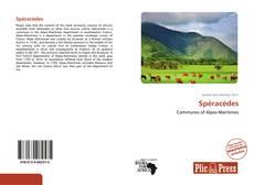 Capa do livro de Spéracèdes