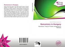 Portada del libro de Romanians in Hungary