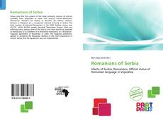 Romanians of Serbia kitap kapağı