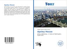 Bookcover of Apsley House