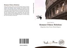 Capa do livro de Romano-Chinese Relations