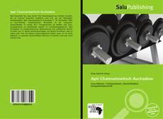 Buchcover von Apti Chamsatowitsch Auchadow