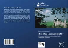 Обложка Biedenfeld (Adelsgeschlecht)