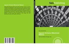 Bookcover of Square-Victoria (Montreal Metro)