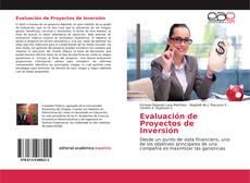 Portada del libro de Evaluación de Proyectos de Inversión