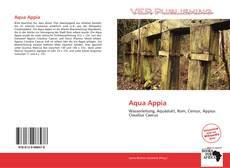 Buchcover von Aqua Appia
