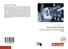 Capa do livro de Romantica (Song)