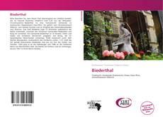 Portada del libro de Biederthal