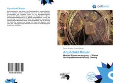 Bookcover of Aquädukt Mauer