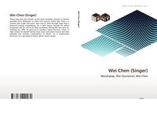 Bookcover of Wei Chen (Singer)
