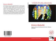 Bistum Abakaliki kitap kapağı