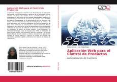 Portada del libro de Aplicación Web para el Control de Productos