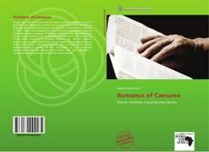 Romanus of Caesarea kitap kapağı