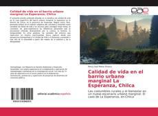 Portada del libro de Calidad de vida en el barrio urbano marginal La Esperanza, Chilca