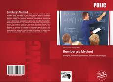 Bookcover of Romberg's Method