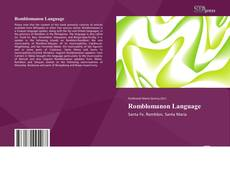Capa do livro de Romblomanon Language