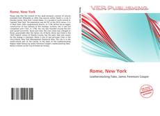 Bookcover of Rome, New York