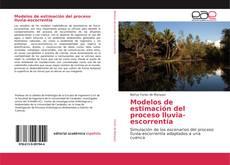 Обложка Modelos de estimación del proceso lluvia-escorrentía