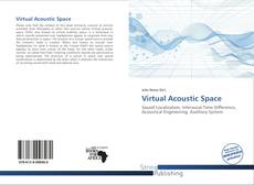 Bookcover of Virtual Acoustic Space