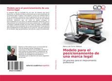 Bookcover of Modelo para el posicionamiento de una marca legal
