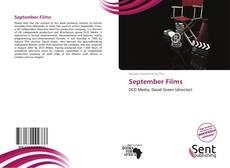 Bookcover of September Films