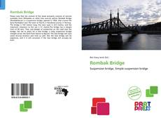 Couverture de Rombak Bridge