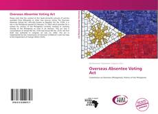 Capa do livro de Overseas Absentee Voting Act
